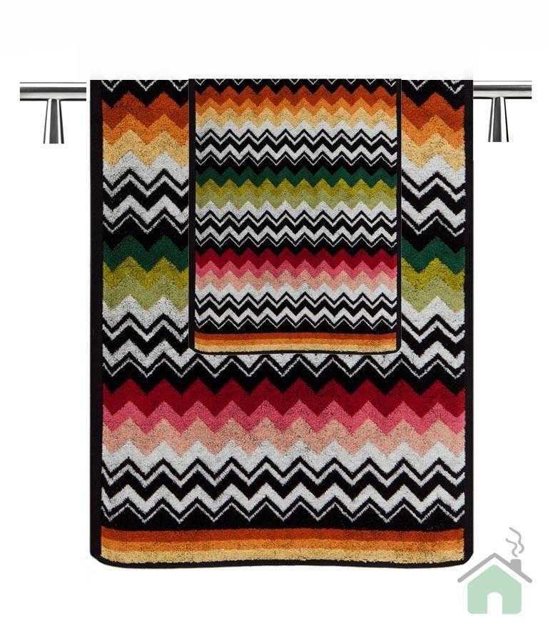 Set of 1 bath towel + 2 hand towels Missoni Home Niles var.156