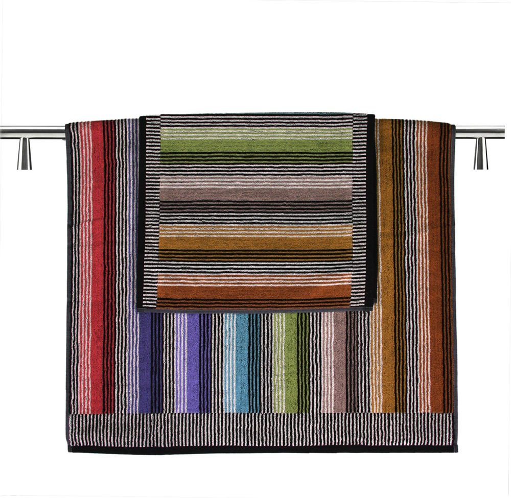 Missoni Home Ross 2015 2 bath towels+hand towel set multicolor stripes