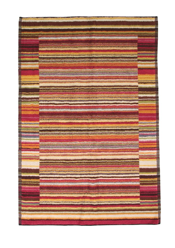 Missoni Home 2015 156 Jazz bathmat 60x90 tones of red, Brown, Orange and green