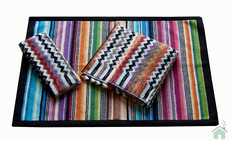 Towels set 1+1 Missoni Home Paul 156 + Missoni Hill bathmat