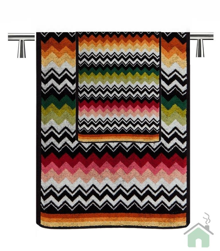 Set of 2 bath towels + 2 bath sheets Missoni Home Niles var.156