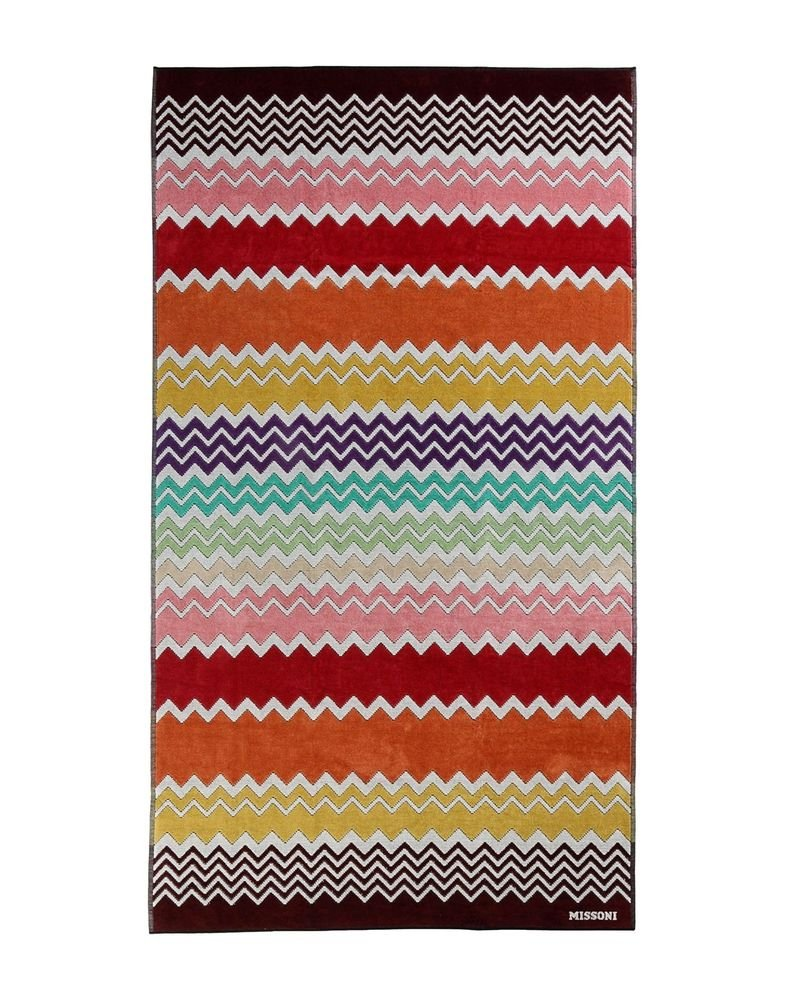 Beach towel Missoni Home 2015 Rufus 159 multicolor chevron