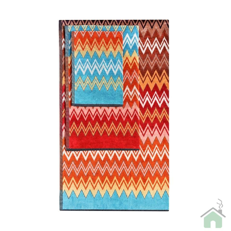 Set of 3 bath towels Missoni Home Otello 60x100 cm (23.64x39.4 in)