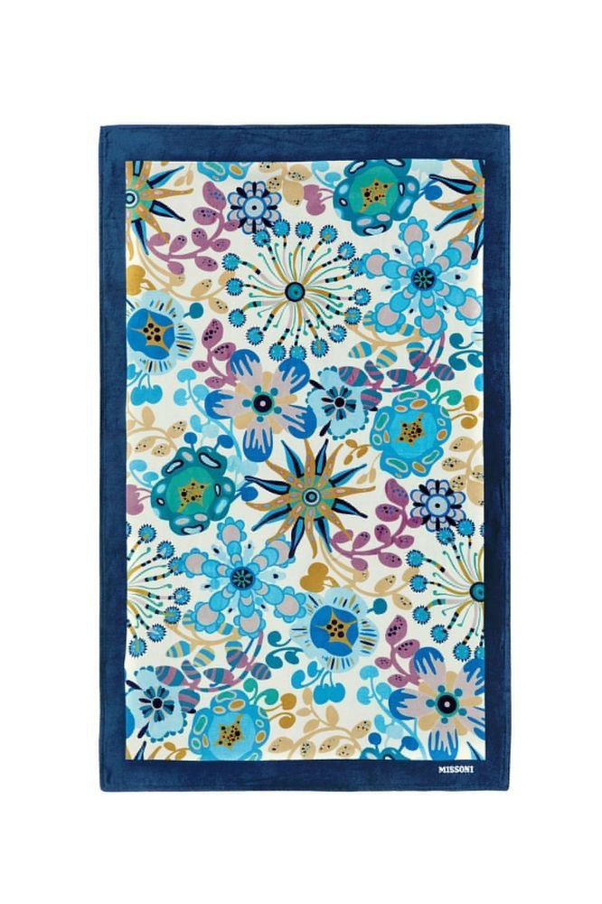 Beach towel Missoni Home 2015 Rita 170 blue inchies