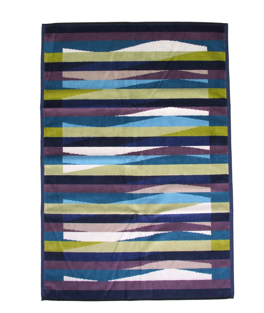 Beach towel Missoni Home 2015 Romy 170 on the shades of blue