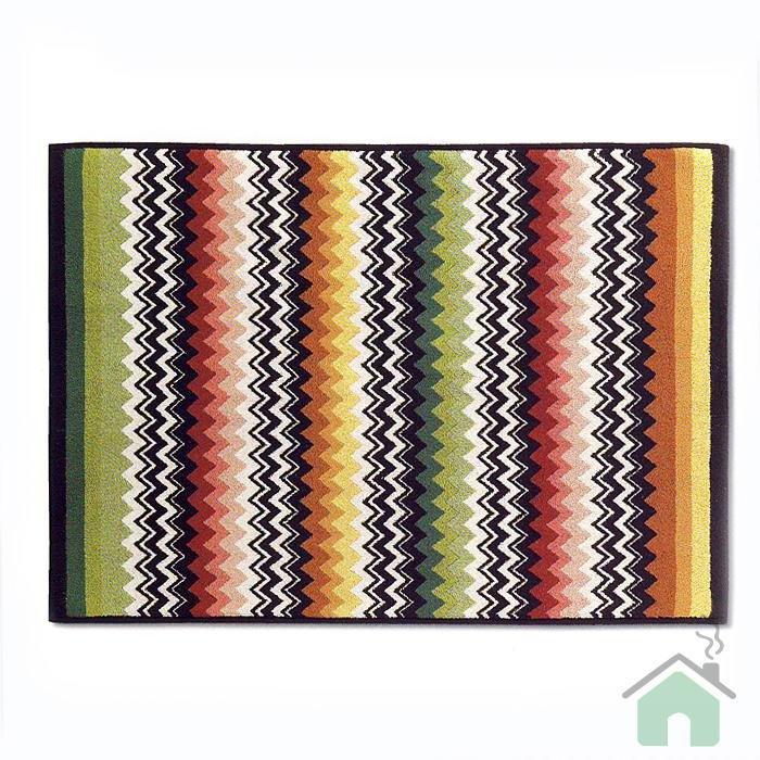Missoni Home Niles var.156 2 bathmat - multicolor zig-zag stripes