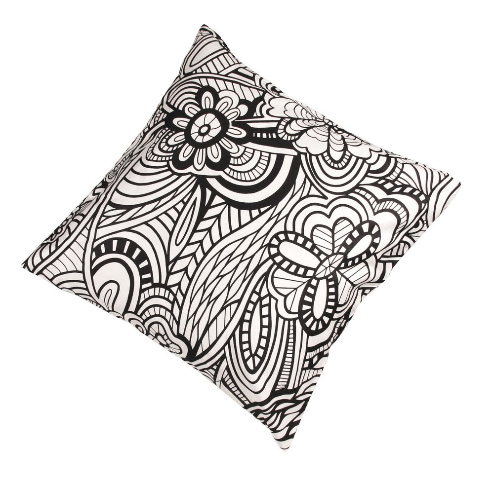 Cushion Missoni Home 12 45x45 floreal BW
