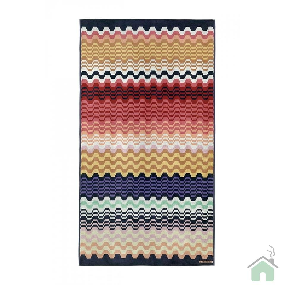Bath sheet Missoni Home Lara var.156 - zig-zag pattern