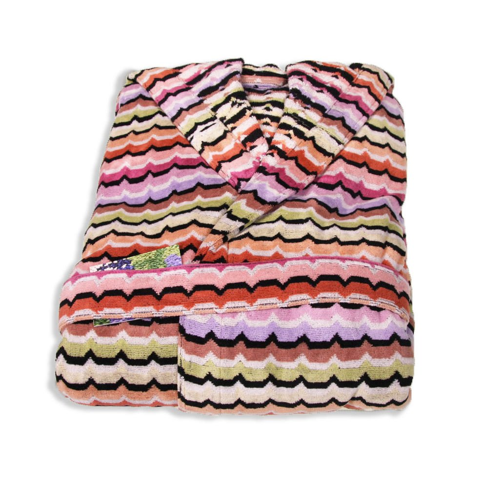 Missoni Home Bath robe with hood multicolor OMAR