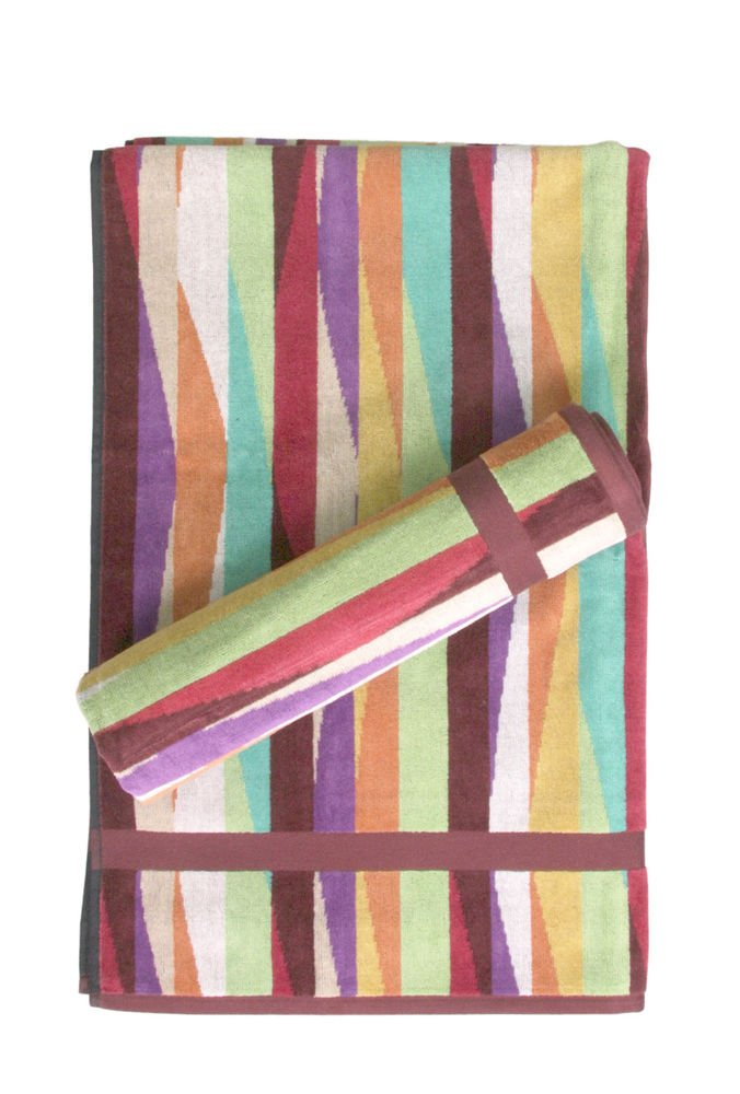 Missoni Home Romy 156 2015 set of 2 bath towels+2 bath sheets multicolor waves