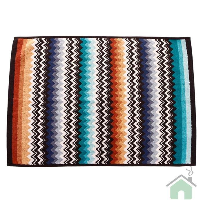 Missoni Home Niles var.170 2 bathmat - multicolor zig-zag stripes
