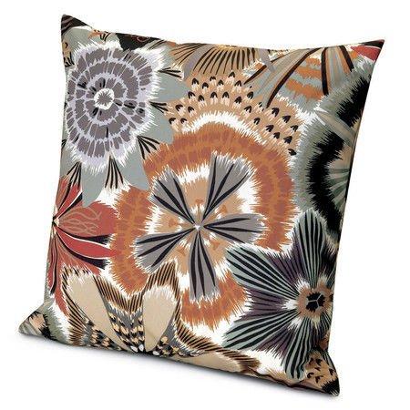 Cushion Missoni Home 12 brown floreal