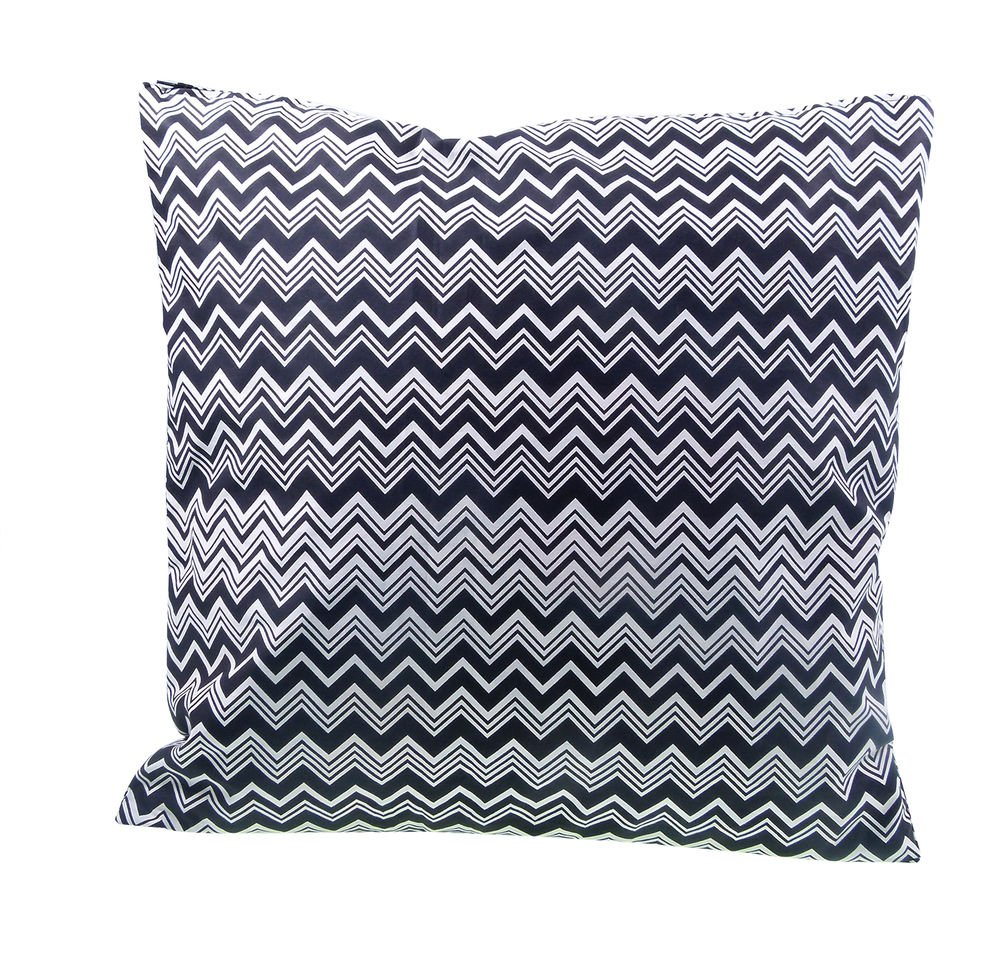 Cushion Missoni 12 45x45 Zig Zag BW