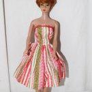 Vintage Barbie Tressy Babs Bild Lilli Clone Striped Sleeveless Dress
