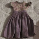 VINTAGE BARBIE BILD LILLI CLONE LAVENDER DRESS KNIT TOP FREE SHIPPING