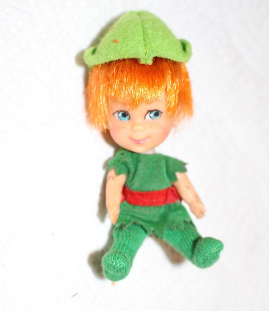 Vintage Mattel Storybook Kiddle Peter Pandiddle Peter Pan