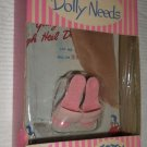 VINTAGE TOTSY MY DOLLY NEEDS LITTLE MISS REVLON PINK SHOES AND HOSE MIB UNUSED