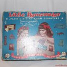 Vintage Little Homemaker Dollhouse Funiture Living Room Set Original Box Plasco
