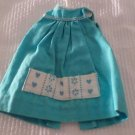 VINTAGE SKIPPER #1932 LET'S PLAY HOUSE HTF TURQUOISE BLUE PINAFORE FREE SHIPPING