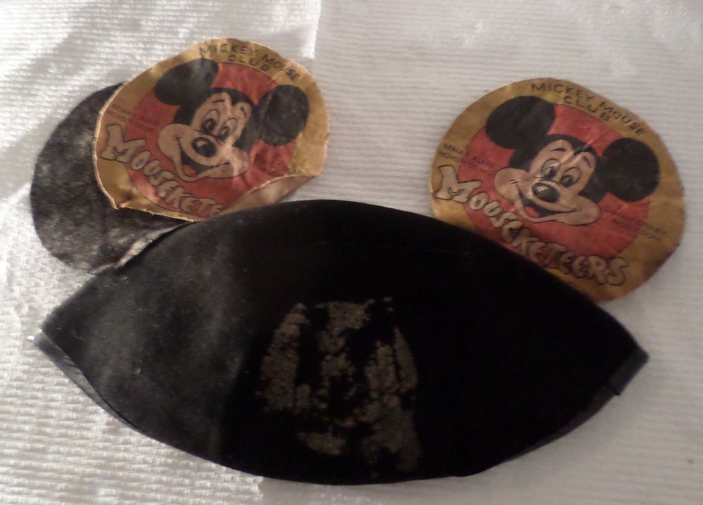 Older 1950s MICKEY MOUSE CLUB MOUSEKETEER EARS RARE HTF