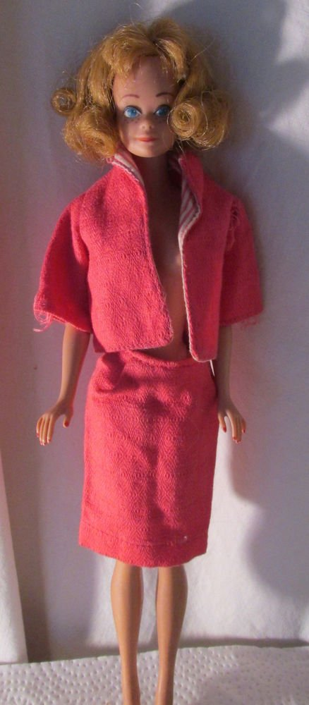 VINTAGE BARBIE CLONE BUSY GAL CLONE PINK VERSION FREE SHIPPING