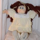 Vintage 1981 Cabbage Patch Little People Doll Pre-Coleco Red Pig Tails Blue Eyes
