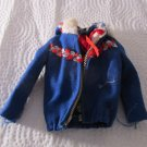 VINTAGE Barbie Ski Queen Jacket #948 Gently Used Free Shipping