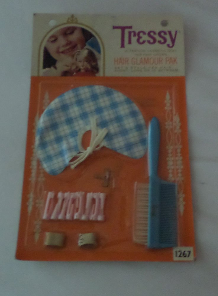 VINTAGE AMERICAN CHARACTER  TRESSY HAIR GLAMOUR PAK MIP FREE SHIPPING