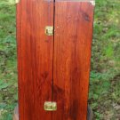"WOODEN DOLL WARDROBE FITS AMERICAN GIRL DOLLS AND SIMILAR 18"" DOLLS"