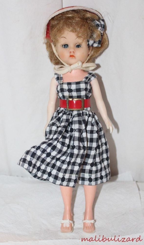 "Vintage Little Miss Revlon Jill Clone 10-1/2"" Dressed in Original Outfit PMA"