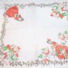 Vintage Walt Disney's Snow White Hankie Red and White Mint Still Crisp