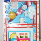 Vintage Toy Nurse Kit Plastic Case and Lots of Pieces MIB Hong Kong