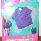 Hollywood Hair Ken Outfit MIP 3747 Fashions For a Star Purple Shirt 1992