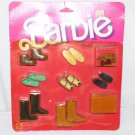 SUPERSTAR BARBIE ERA BARBIE FINISHING TOUCHES ACCESSORIES1984 #2459 KEN MISTAKE