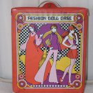 Vintage Mod Era Fashion Doll Case Fits Barbie Size Dolls and Clothes Pristine