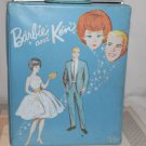 Vintage Barbie and Ken Double Case Light Blue It's Empty