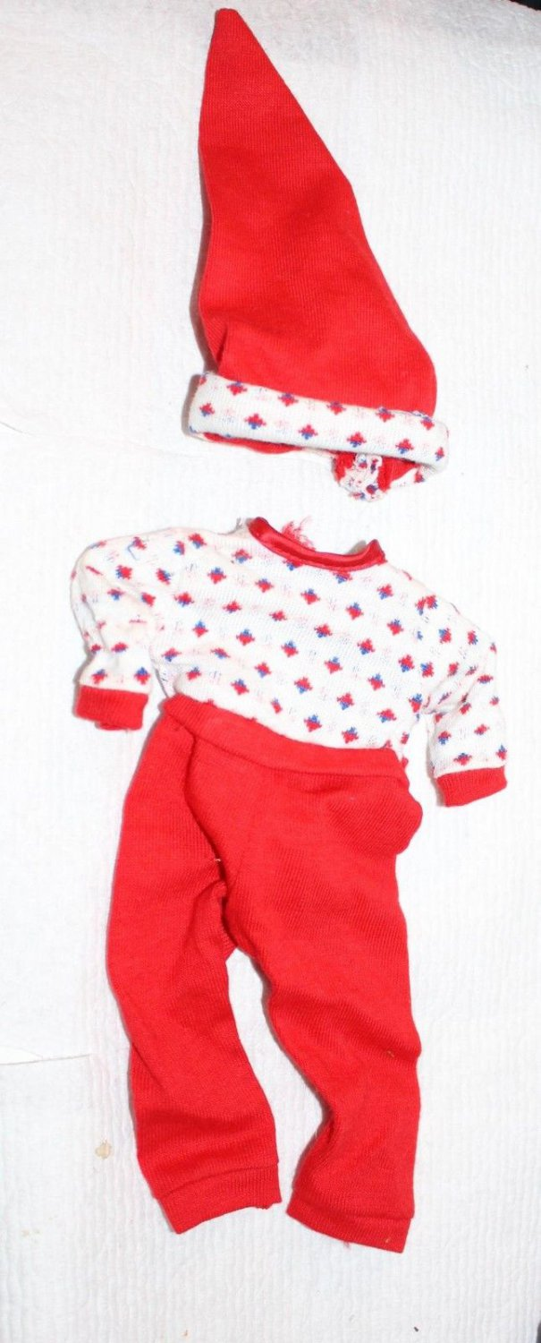 Vintage Shirley Temple Red PJs Pajamas Excellent