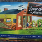 Vintage Renwal  Little Red School House and Furniture Original Box