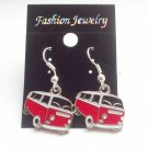 VW Camper Van Enamelled Earrings
