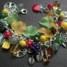 Tutti Fuitti Colourful Fruit Charm Bracelet