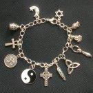 Religious Unity Inter Faith Charm Bracelet