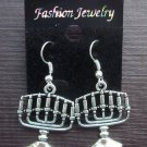 Gothic Candelabra Candlestick Earrings Halloween