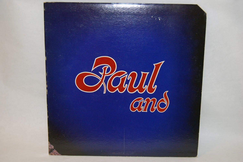 """PAUL STOOKEY Paul And 12"""" Vinyl LP Warner Bros 1971"""