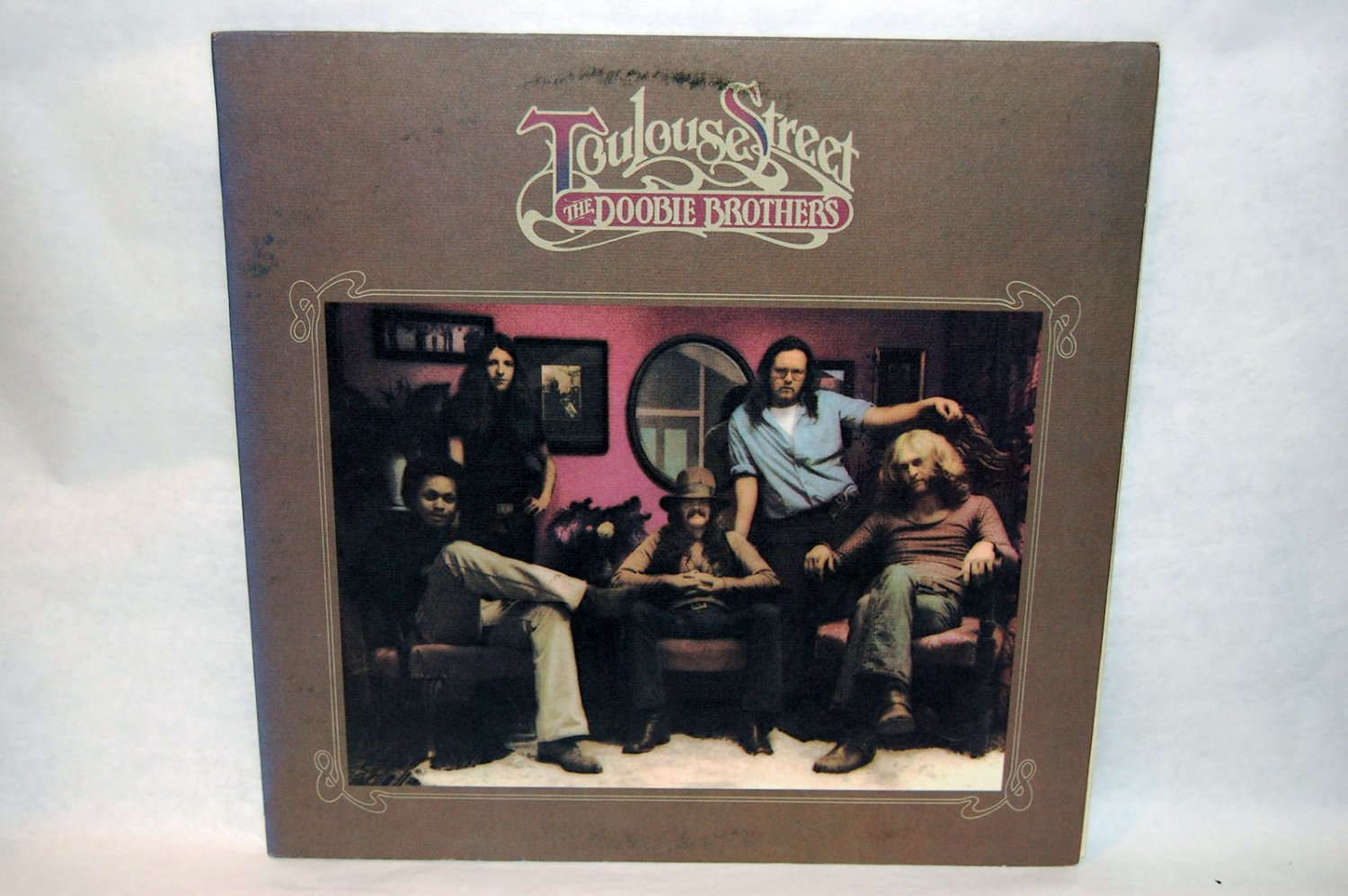 "THE DOOBIE BROTHERS Toulouse Street 12"" Vinyl LP Warner Bros 1972"