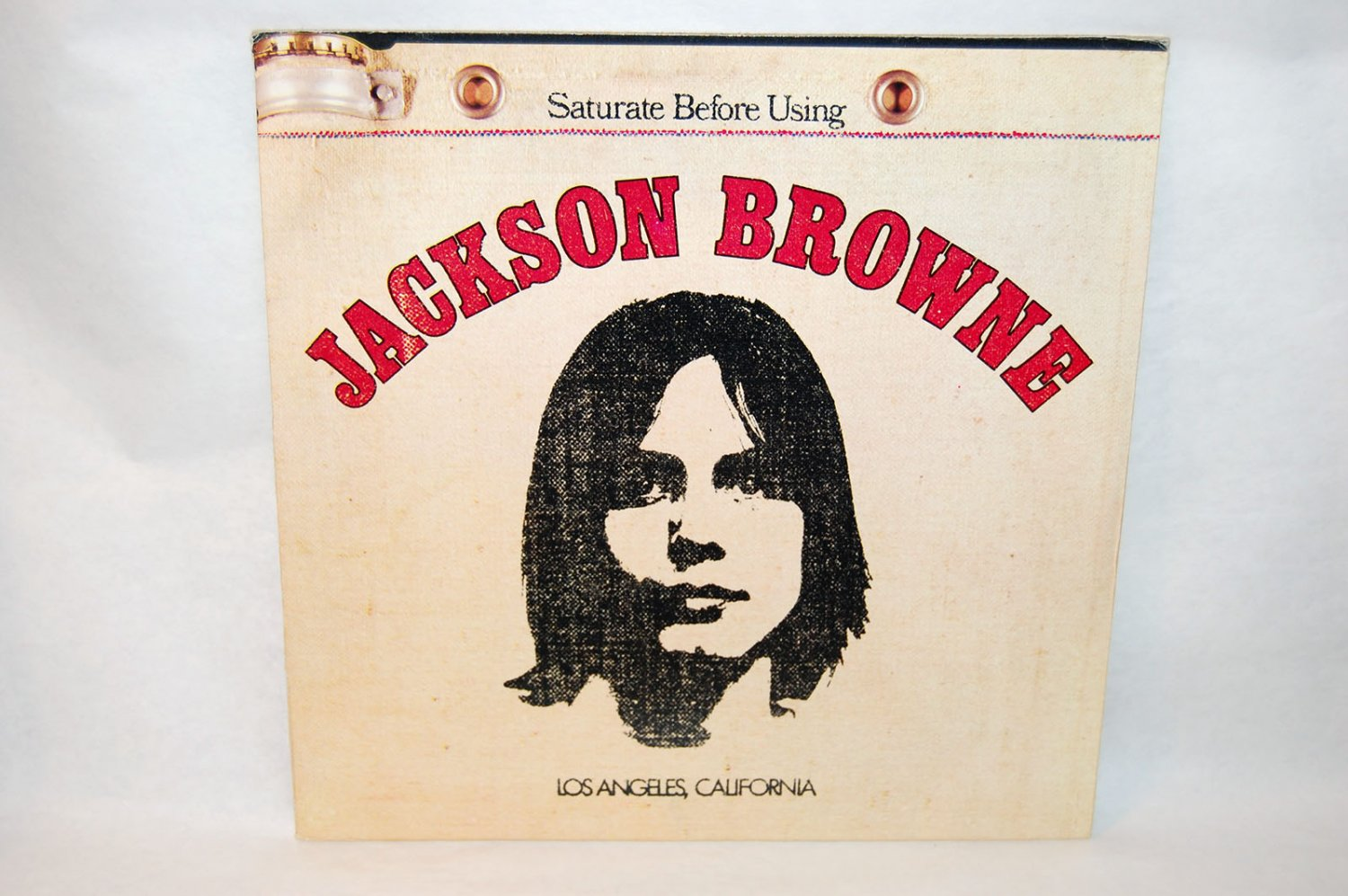 "JACKSION BROWNE Saturate Before Using 12"" Vinyl LP Asylum 1972"