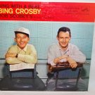 "BING CROSBY & BOB SCOBEY Bing With A Beat 12"" Vinyl LP RCA LPM-1473"