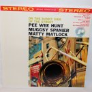 "PEE WEE HUNT MUGGSY SPANIER MATTY MATLOCK On The Sunny Side Of The Street 12"" Vinyl LP Rondo"