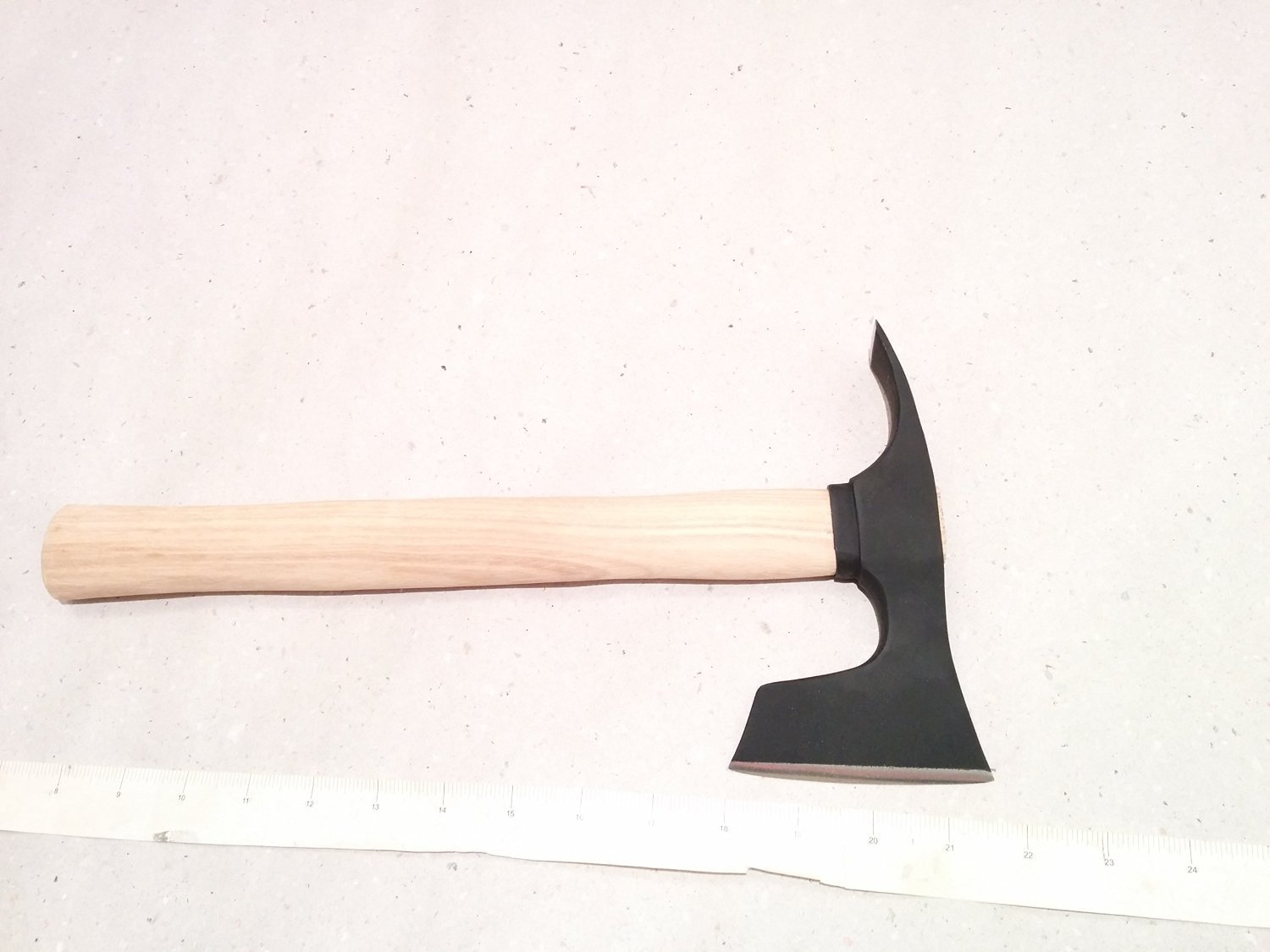 � CAMPING BEARDED HATCHET - AXE COMBINED WITH ADZE BLADE BUSHCRAFT TOOL