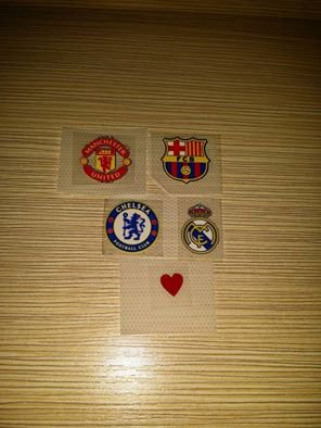 Club badges - Boots/Gloves printing (HKD35)