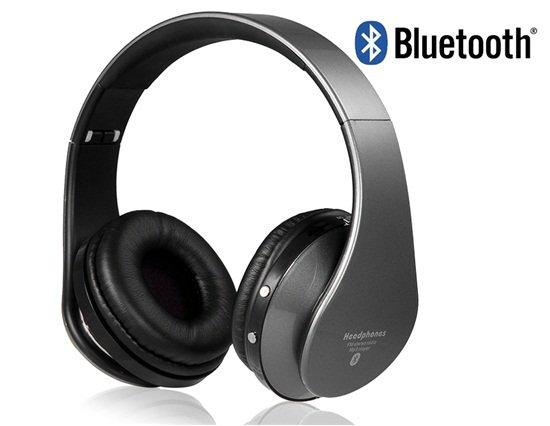 EB203 Foldable On-ear Wireless Stereo Bluetooth Headphones